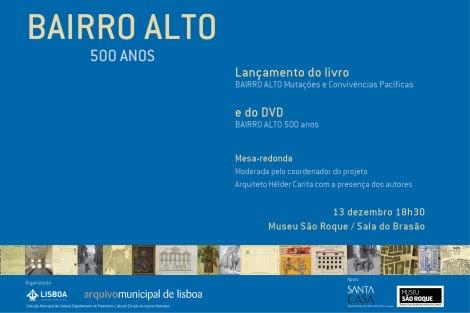 livro - Bairro Alto 500 Anos