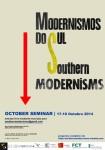 Modernismos do sul - seminário de outubro