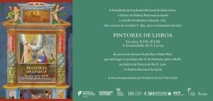 CONVITE PINTORES DE LISBOA