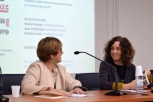 Abertura do Colóquio por Filomena Serra e Joana Cunha Leal (Directora do Instituto de História de Arte)
