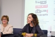 Joana Cunha Leal (Directora do IHA) na abertura do Colóquio