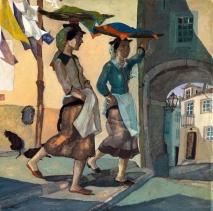 """""""As varinas"""", 1930, Jorge Barradas"""