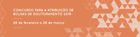 Concurso Bolsas 2019 FCT
