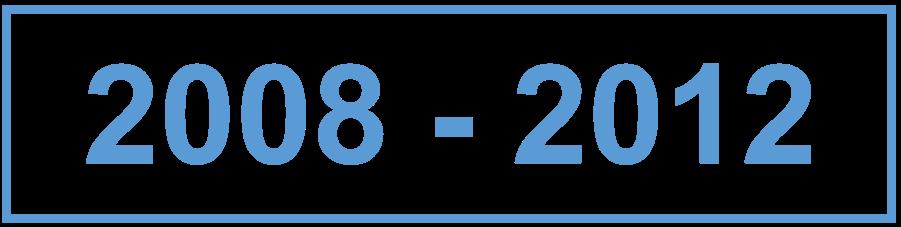 2008 - 2012