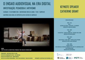 Cartaz - O ensaio audiovisual