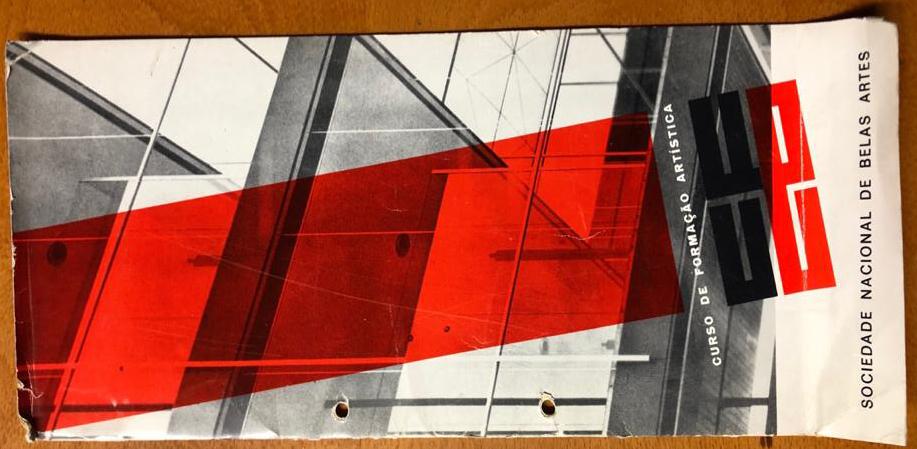 Brochura do primeiro Curso de Formação Artístca da SNBA_edited