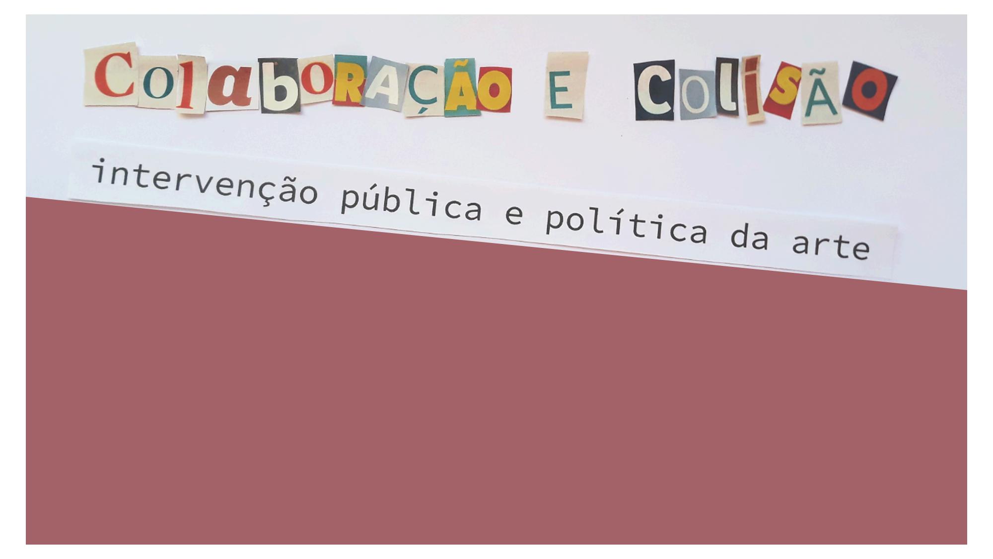 Intervenção e Colisão - banner